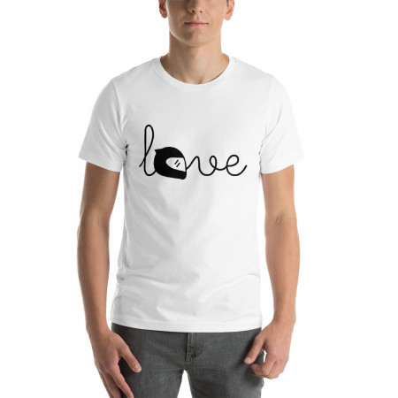 T-Shirt Love Casque