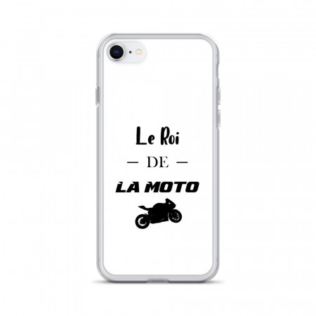 Coque iPhone Le Roi de la Moto