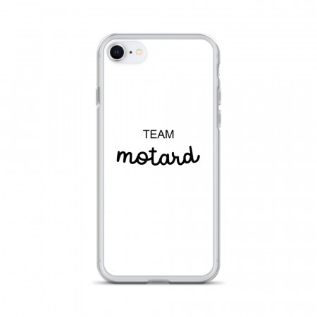 Coque iPhone Team Motard